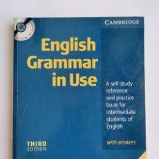 Libros de segunda mano: ENGLISH GRAMMAR IN USE CON CD. Lote 268853224
