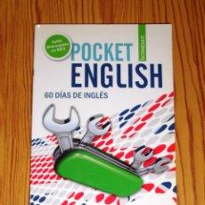 Libros de segunda mano: POCKET ENGLISH INTERMEDIATE : 60 DÍAS DE INGLÉS. - VAUGHAN SYSTEMS. Lote 268871999