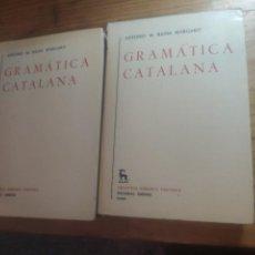Libros de segunda mano: ANTONIO M. BADIA MARGARIT - GRAMÁTICA CATALANA, 2 VOLS., MADRID, GREDOS, 1985. Lote 269315358