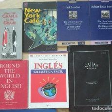 Libros de segunda mano: LOTE INGLÉS / ENGLISH - CALLAN METHOD + GRAMATICA FACIL + CRADDLE + TEXTOS SENCILLOS. Lote 269660543