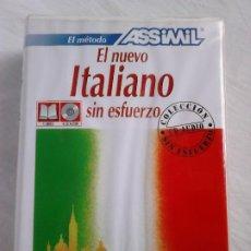 Libros de segunda mano: EL NUEVO ITALIANO SIN ESFUERZO ASSIMIL (LIBRO + CD AUDIOS + ESTUCHE). Lote 269831528