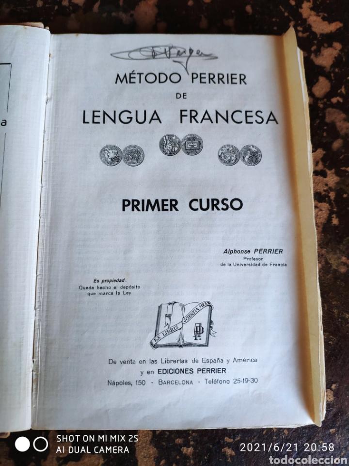 Libros de segunda mano: METODO PERRIER LENGUA FRANCESA PRIMER CURSO (EDICIONES PERRIER, BARCELONA) - Foto 3 - 270640378