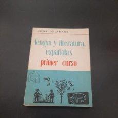 Libros de segunda mano: LENGUAS Y LITERATURAS ESPAÑOLAS PRIMER CURSO. Lote 272083168