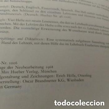 Libros de segunda mano: 1968 DEUTSCHE SPRACHLEHRE FUR AUSLANDER LIDRO DE ALEMAN+DICCIONARIO ALEMAN/ESPAÑOL - Foto 2 - 276242913
