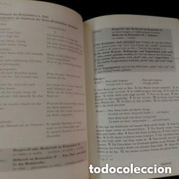 Libros de segunda mano: 1968 DEUTSCHE SPRACHLEHRE FUR AUSLANDER LIDRO DE ALEMAN+DICCIONARIO ALEMAN/ESPAÑOL - Foto 3 - 276242913