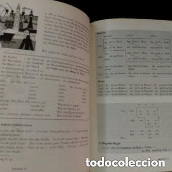 Libros de segunda mano: 1968 DEUTSCHE SPRACHLEHRE FUR AUSLANDER LIDRO DE ALEMAN+DICCIONARIO ALEMAN/ESPAÑOL - Foto 6 - 276242913