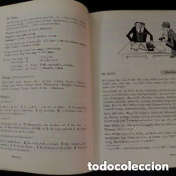 Libros de segunda mano: 1968 DEUTSCHE SPRACHLEHRE FUR AUSLANDER LIDRO DE ALEMAN+DICCIONARIO ALEMAN/ESPAÑOL - Foto 7 - 276242913