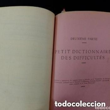Libros de segunda mano: 1960 2°EDICION CURSO SUPERIOR DE FRANCES , LUIS GRANDIA MATEU CATEDRATICO F. DE LENGUAS MODERNAS - Foto 2 - 276243523