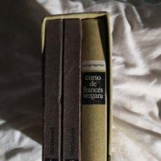 Libros de segunda mano: CURSO DE FRANCÉS VERGARA CON DISCOS. Lote 276912578