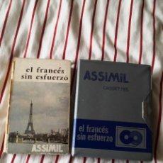 Libros de segunda mano: CURSO EL FRANCÉS SIN ESFUERZO ASSIMIL CON CASSETTES. Lote 276913348