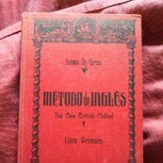 Libros de segunda mano: MÉTODO DE INGLÉS GIRAU LIBRO PRIMERO. Lote 276913673