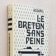 Libros de segunda mano: LE BRETON SANS PEINE. TOME I (MÉTHODE QUOTIDIENNE ASSIMIL) - MORVANNOU, FRANCH. Lote 277476838