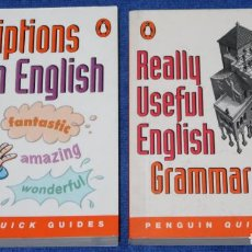 Libros de segunda mano: DESCRIPTIONS IN ENGLISH - REALLY USEFUL ENGLISH GRAMMAR - PENGUIN QUICK GUIDES (2000). Lote 278849003