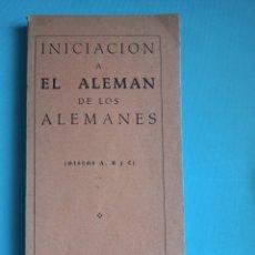 Libros de segunda mano: LIBROS ANTIGUOS PARA APRENDER ALEMAN. Lote 285088288