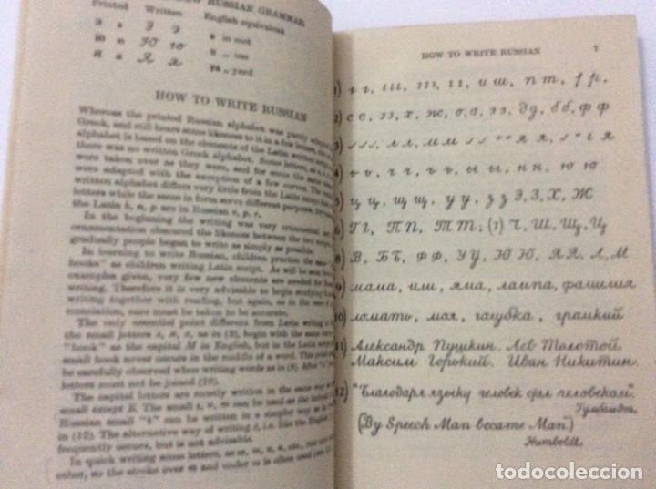 Libros de segunda mano: A New Russian grammar in two parts, ANNA H. SEMEONOFF, 1945 - Foto 3 - 286763248