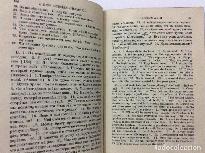 Libros de segunda mano: A New Russian grammar in two parts, ANNA H. SEMEONOFF, 1945 - Foto 6 - 286763248
