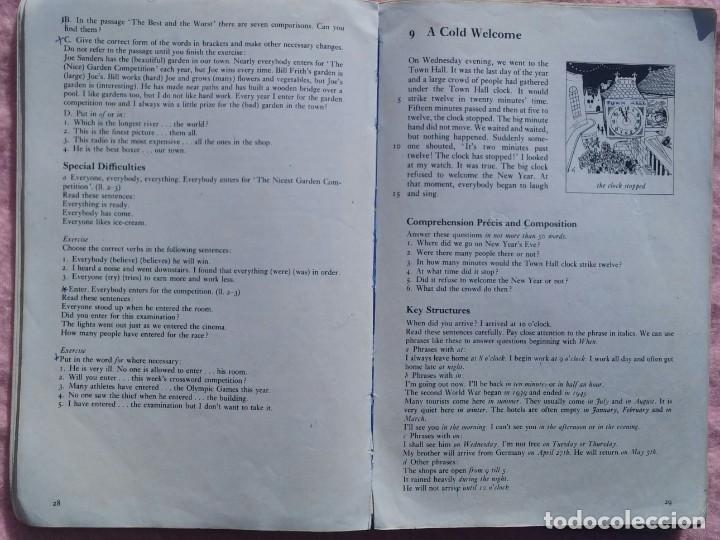 Libros de segunda mano: Practice and Progress – L.G. Alexander (Longman, 1970) /// INGLÉS VAUGHAN ENGLISH FRANCÉS IDIOMAS - Foto 11 - 286797518
