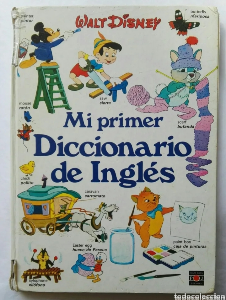 MI PRIMER DICCIONARIO DE INGLÉS DISNEY (Libros de Segunda Mano - Cursos de Idiomas)