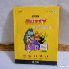 Libros de segunda mano: MUZZY MUNTILINGIAL -DVD BOOK Nº1. Lote 287671023