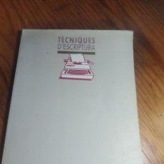 Libros de segunda mano: TÈCNIQUES D'ESCRIPTURA. EUSEBI COROMINA. TEIDE.. Lote 287806963