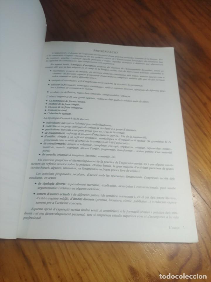 Libros de segunda mano: Tècniques descriptura. Eusebi Coromina. Teide. - Foto 6 - 287806963