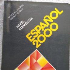Libros de segunda mano: ESPAÑOL 2000, NIVEL ELEMENTAL (SGEL, 1999) /// IDIOMAS DICCIONARIO INGLÉS FRANCÉS ITALIANO PORTUGUÉS. Lote 288045853