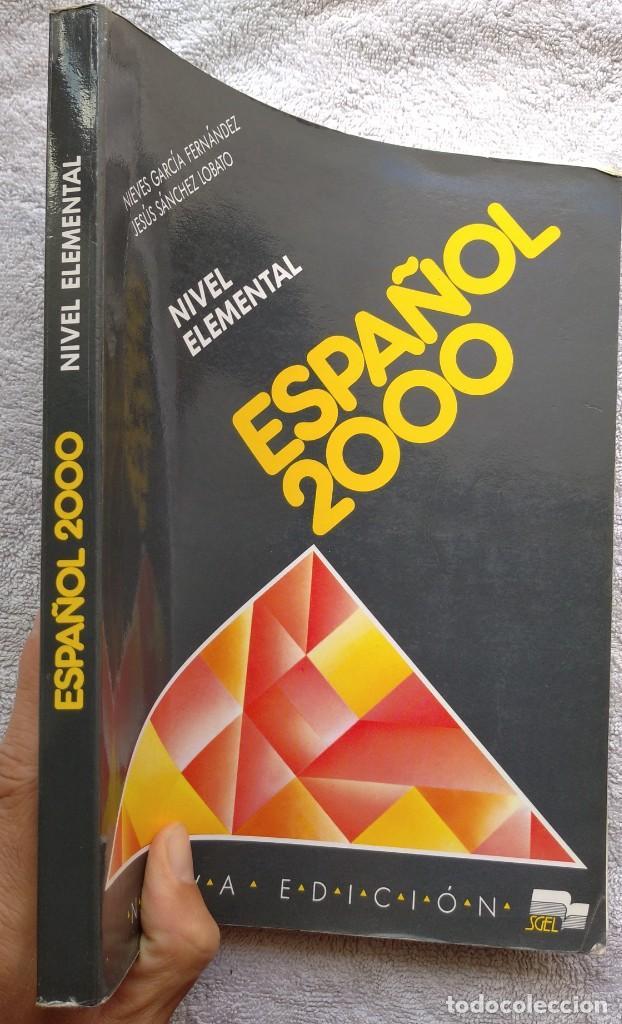 Libros de segunda mano: Español 2000, Nivel Elemental (SGEL, 1999) /// IDIOMAS DICCIONARIO INGLÉS FRANCÉS ITALIANO PORTUGUÉS - Foto 2 - 288045853