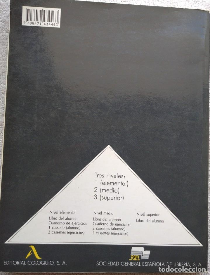 Libros de segunda mano: Español 2000, Nivel Elemental (SGEL, 1999) /// IDIOMAS DICCIONARIO INGLÉS FRANCÉS ITALIANO PORTUGUÉS - Foto 3 - 288045853