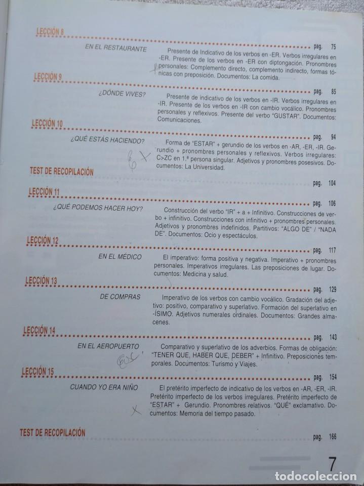 Libros de segunda mano: Español 2000, Nivel Elemental (SGEL, 1999) /// IDIOMAS DICCIONARIO INGLÉS FRANCÉS ITALIANO PORTUGUÉS - Foto 5 - 288045853