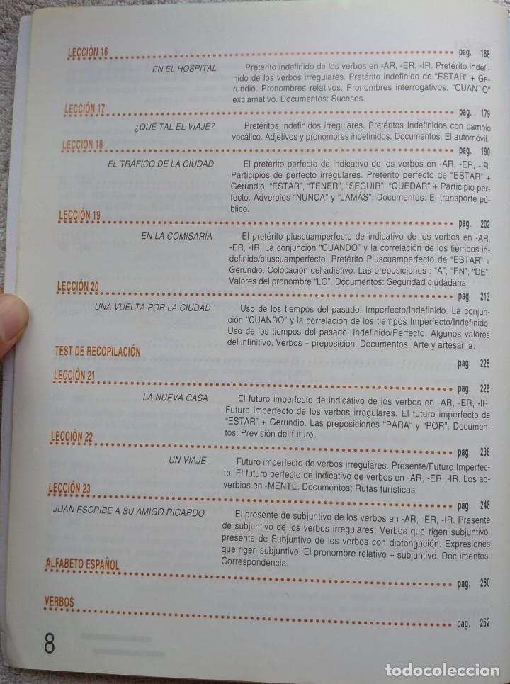 Libros de segunda mano: Español 2000, Nivel Elemental (SGEL, 1999) /// IDIOMAS DICCIONARIO INGLÉS FRANCÉS ITALIANO PORTUGUÉS - Foto 6 - 288045853