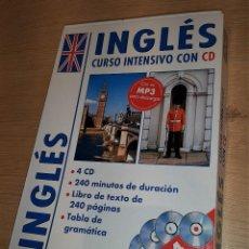 Libros de segunda mano: PACK CURSO INTENSIVO DE INGLÉS (LIBRO+CD+MP3). Lote 288093223