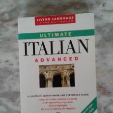 Libros de segunda mano: ULTIMATE ITALIAN: ADVANCED (LL(R) ULTIMATE ADVANCED COURSE) 2ND ED. EDITION BY SALVATORE BANCHERI. Lote 289848053
