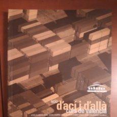 Libros de segunda mano: NOU D'ACÍ I D'ALLÀ CURS DE VALENCIÀ (CURSO VALENCIANO GRADO ELEMENTAL B1) TABARCA + CD. Lote 293672843