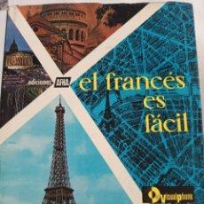 Libros de segunda mano: EL FRANCÉS ES FÁCIL. VISUALPHONE. III CURSO SUPERIOR. ED AFHA. 1963. TAPA DURA. ILUSTRADO. VER. Lote 295940838