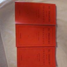 Libros de segunda mano: EL FRANCÉS DE LOS FRANCESES. EUROVOX. CUATRO TOMOS.. Lote 296703423
