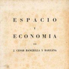 Libros de segunda mano: ESPACIO Y ECONOMIA. Lote 18733907