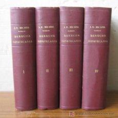 Libros de segunda mano: 4 TOMOS DERECHO HIPOTECARIO (REGISTRO DE LA PROPIEDAD). POR RAMÓN Mª ROCA SASTRE.... 1948. Lote 23348067
