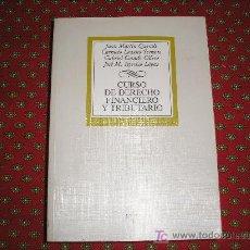 Libros de segunda mano: CURSO DE DERECHO FINANCIERO Y TRIBUTARIO. J. MARTÍN QUERALT/C.LOZANO. ED. TECNOS. 2002. Lote 22605552