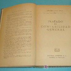 Libros de segunda mano: TRATADO DE CONTABILIDAD GENERAL. FERNANDO BOTER MAURI. EDIT. JUVENTUD. 1958. Lote 26248249