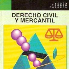 Libros de segunda mano: DERECHO CIVIL Y MERCANTIL. (MADRID, 1996). Lote 21802281