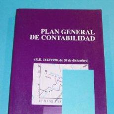 Libros de segunda mano: PLAN GENERAL DE CONTABILIDAD. EDIT. CENTRO DE ESTUDISO FINANCIEROS. 1991. Lote 24966900
