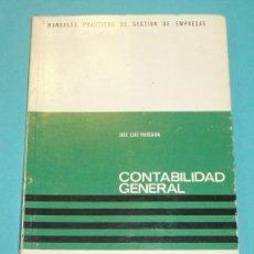 Libros de segunda mano: CONTABILIDAD GENERAL. JOSE LUIS MARCAIDA. EDIT. DEUSTO. Lote 14842326