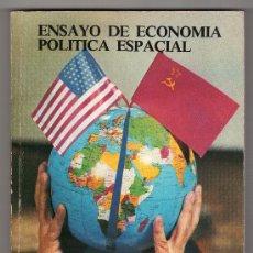 Libros de segunda mano: ENSAYO DE ECONOMIA POLITICA ESPACIAL POR DIONISIO MARTIN SANZ. HAUSER Y MENET 1ª ED. MADRID 1981. Lote 15550118