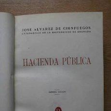 Libros de segunda mano - Hacienda pública. Alvarez de Cienfuegos (José) - 18568997