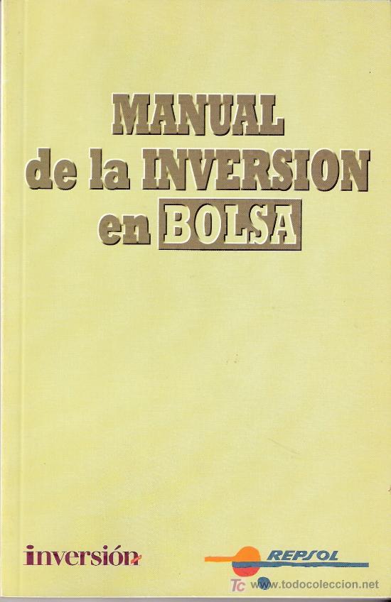 MANUAL DE LA INVERSION EN BOLSA. JOSÉ RAMÓN CANO RICO.INVERSOR EDICIONES S.L.1994 (Libros de Segunda Mano - Ciencias, Manuales y Oficios - Derecho, Economía y Comercio)