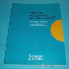 Libros de segunda mano: INFORME ANUAL SOBRE EL ESTADO DE LA INVESTIGACIÓN, EL DESARROLLO Y LA TECNOLOGÍA EN LA COMUNIDAD VA-. Lote 24374547