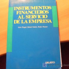 Libros de segunda mano: INSTRUMENTOS FINANCIEROS AL SERVICIO DE LA EMPRESA (L31). Lote 20342336