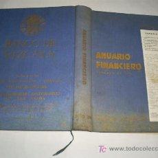 Libros de segunda mano: ANUARIO FINANCIERO QUE COMPRENDE EL HISTORIAL DE SOCIEDADES ANÓNIMAS ESPAÑA AÑO 1963 RM41763. Lote 22557239