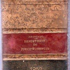 Libros de segunda mano: ARANZADI. REPERTORIO DE JURISPRUDENCIA. 1952. 25 X 18 CM.. Lote 84846960