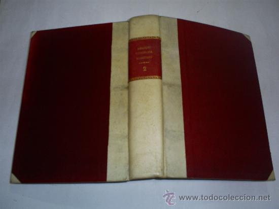 DERECHO COMERCIAL MARÍTIMO TOMO II EL TRANSPORTE MARÍTIMO FRANCISCO FARIÑA 1948 RM40877 (Libros de Segunda Mano - Ciencias, Manuales y Oficios - Derecho, Economía y Comercio)